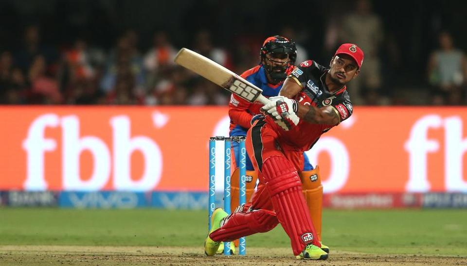 With the top five back in the hut inside the first 10 overs, Pawan Negi led their revival with a quickfire 32 but the southpaw couldn't stay till the end and RCB could only muster 134.  (BCCI )