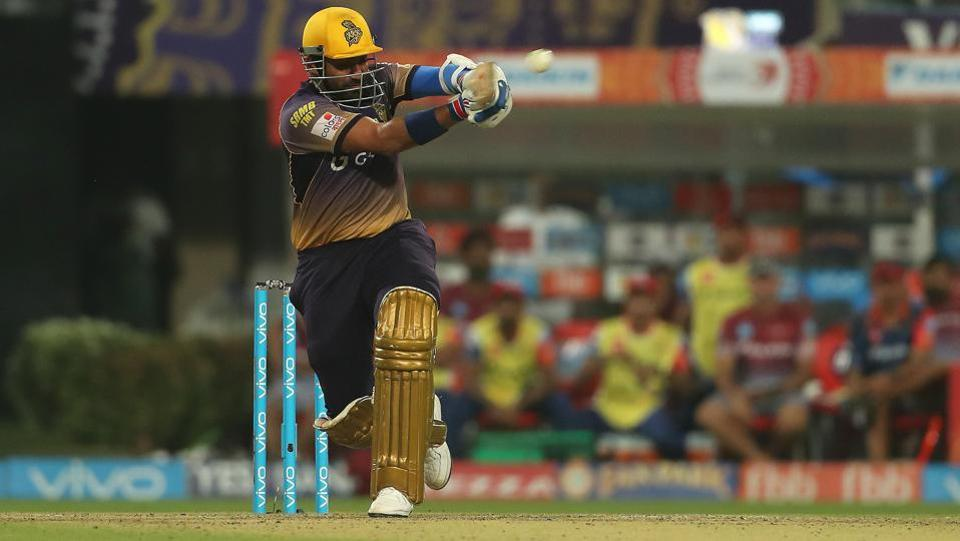 Robin Uthappa got going for Kolkata Knight Riders, as he comfortably hit the ball around the park. (BCCI)