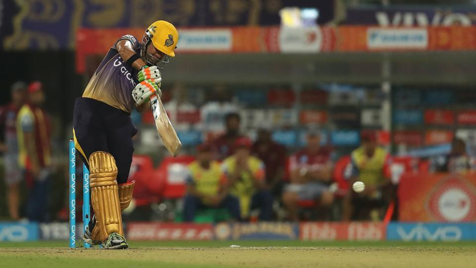 Gambhir remained unbeaten on 71 as KKR went on to clinch a seven-wicket win. (BCCI)