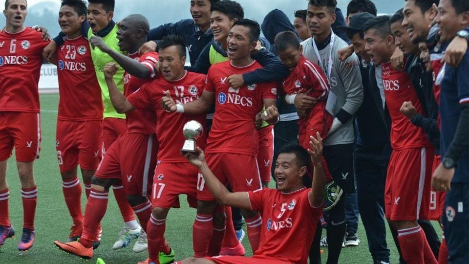 Aizawl FChave been able to cope with the pressure of being I-league front-runners quite well through the season, and their unbeaten run at home (eight wins and a draw) speaks volumes of the technical and tactical brilliance of the outfit fromMizoram, coached by Khalid Jamil.