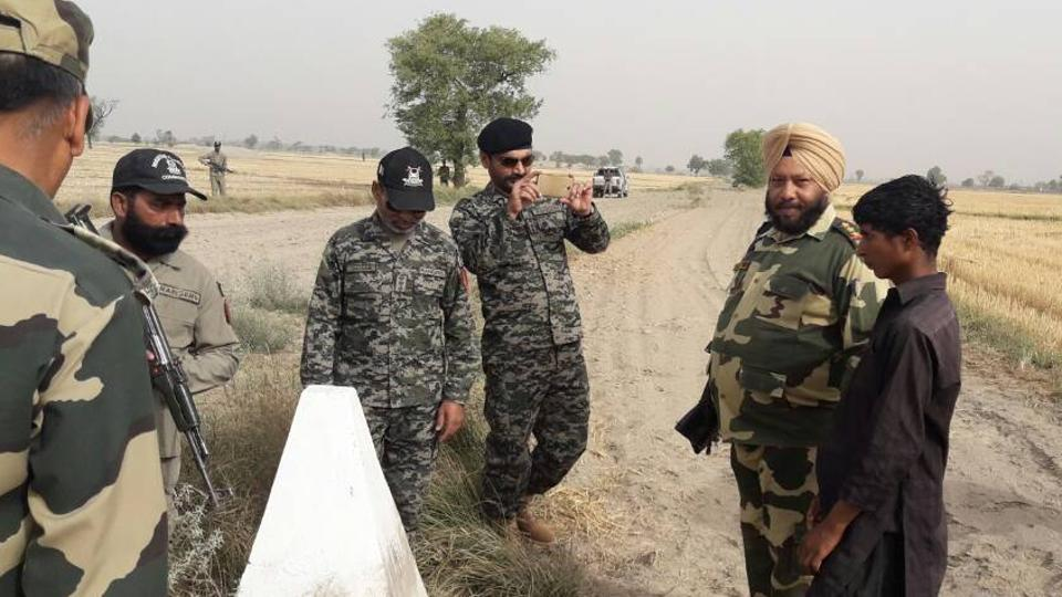 BSF,Pak ranger,Punjab border