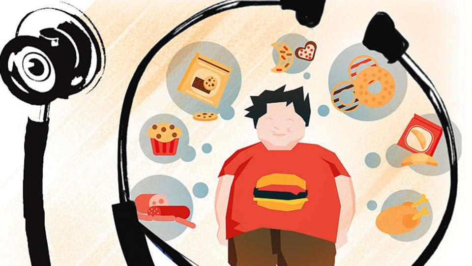 Too much junk food and lack of exercise puts urban kids at increased risk of obesity and all its attendant healthy problems.