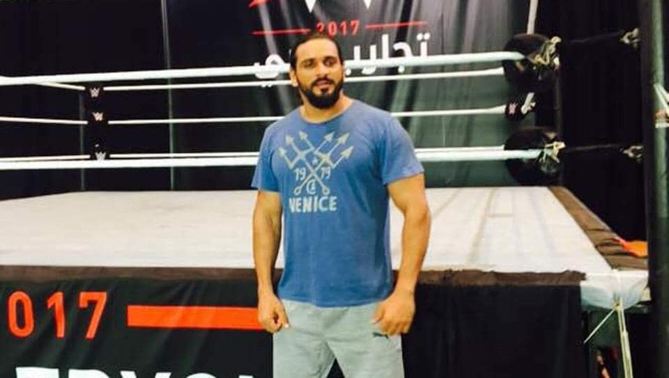 Actor Saurav Gurjar is trying to enter the World Wrestling Entertainment (WWE) universe.