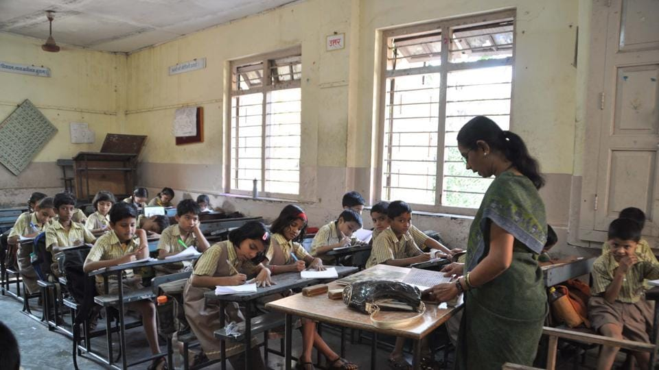 Modern Elementary School Classroom ~ Haryana govt cancels jbt teachers selection