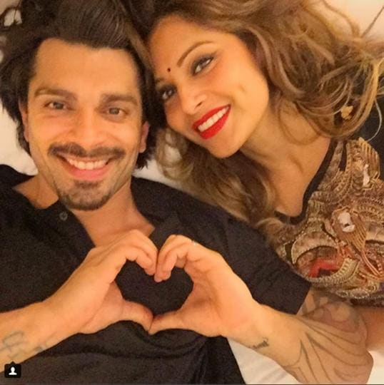"Actor Bipasha Basu, who was abroad till recently for actor Salman Khan's Da-Bangg tour, shared a video of the couple  jumping on the beach and wrote, ""Reunited with my love Fun times #monkeylove."