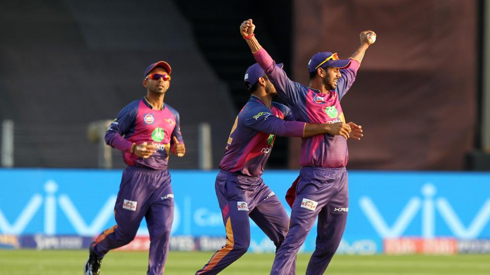 RPS struck at regular intervals as Royal Challengers Bangalore faltered in their chase. (BCCI)