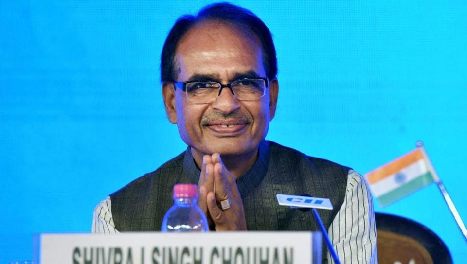 Madhya Pradesh chief minister Shivraj Singh Chouhan's photos will now be seen in all state government offices.