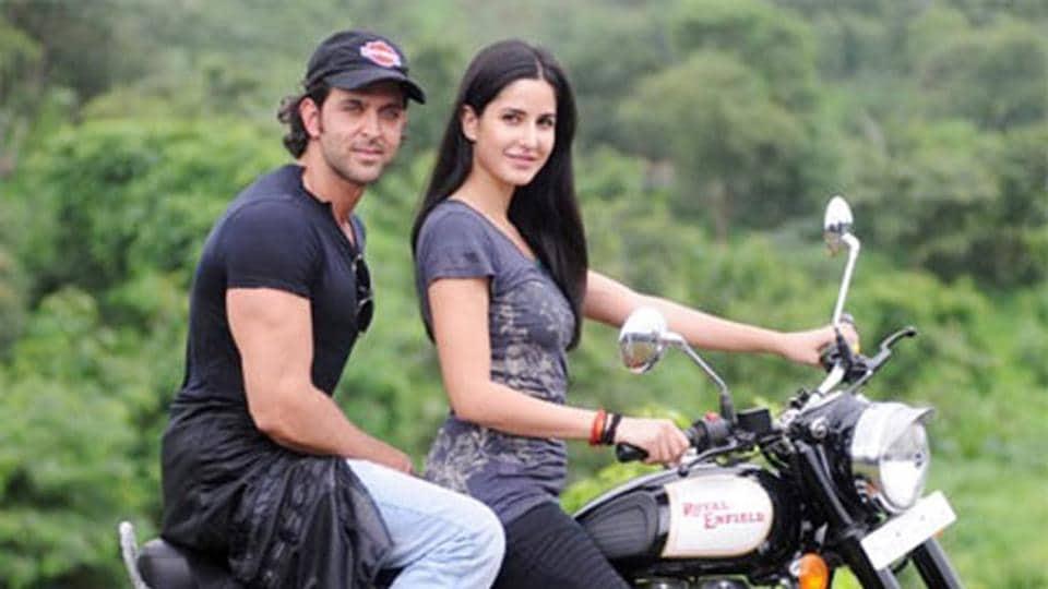 Hrithik Roshan and Katrina Kaif in a post-release photo shoot for Bang Bang.
