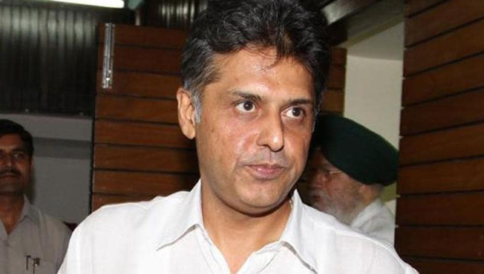 Congress leader and former Union minister Manish Tewari said donations to political parties should be linked with Aadhaar.