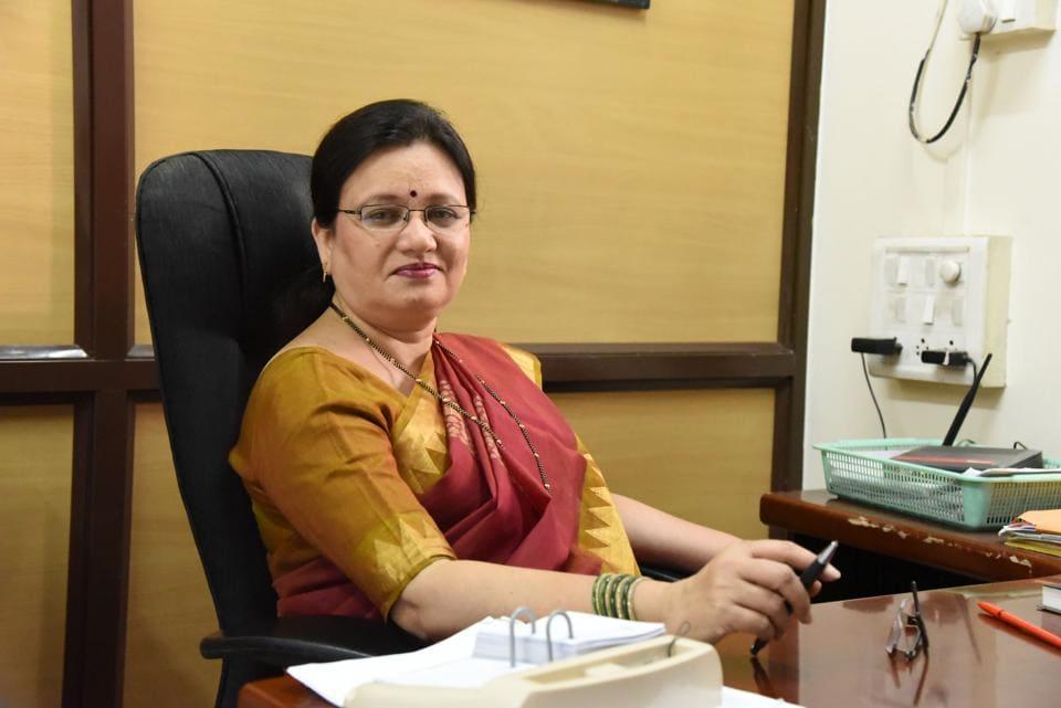 Pune mayor Mukta Tilak.