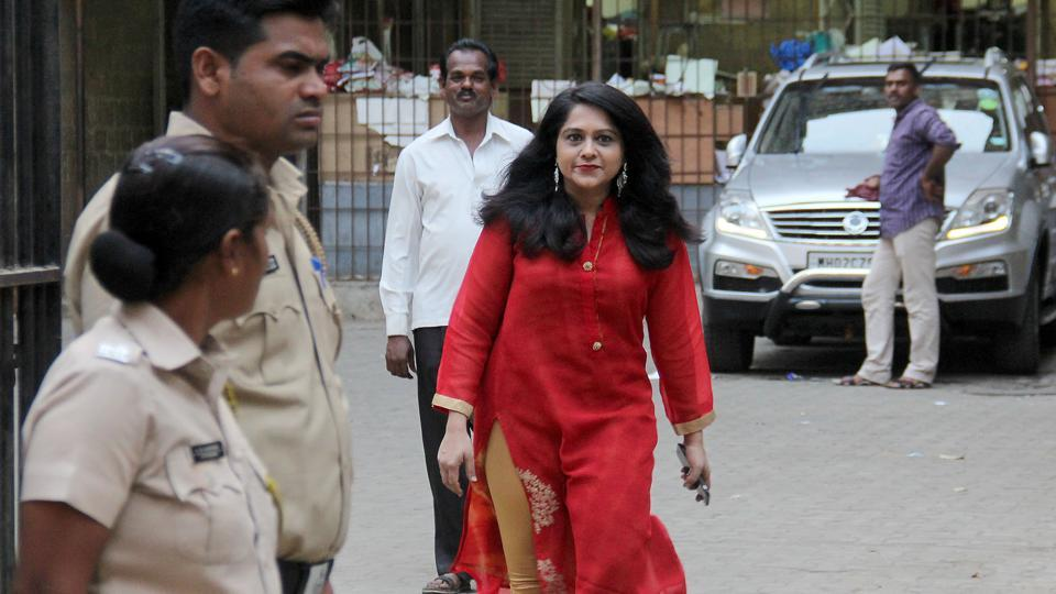 Preeti Jain comes out the sessions court after getting bail in Mumbai.
