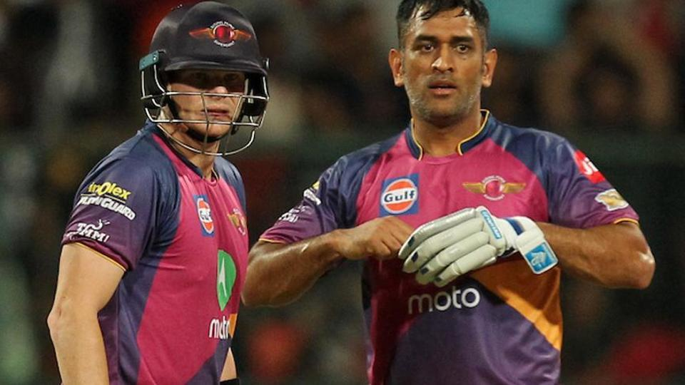 Rising Pune Supergiant team management replacing Mahendra Singh Dhoni (right) with Aussie Steve Smith (left) as captain ahead of IPL2017 has been a major talking point this season. Dhoni has also faced questions about his future due to a subdued batting performance.