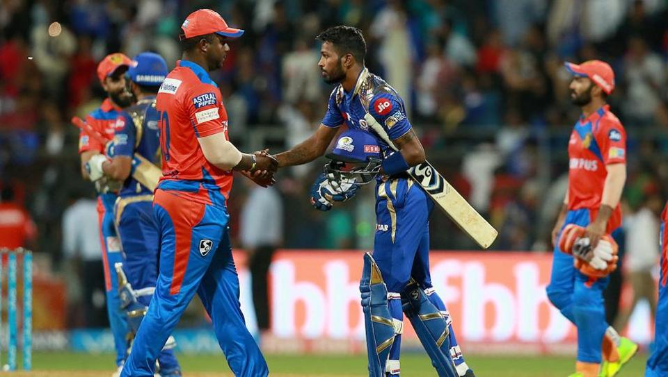 Gujarat Lions play Mumbai Indians in an IPL 2017 T20 match in Rajkot today. Get live score of GL vs MI here.