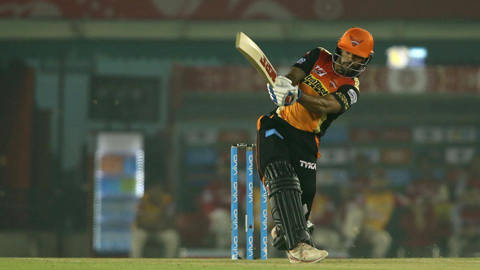 Shikhar Dhawan gave SRH a strong start as he piled up boundaries at will.  (BCCI )