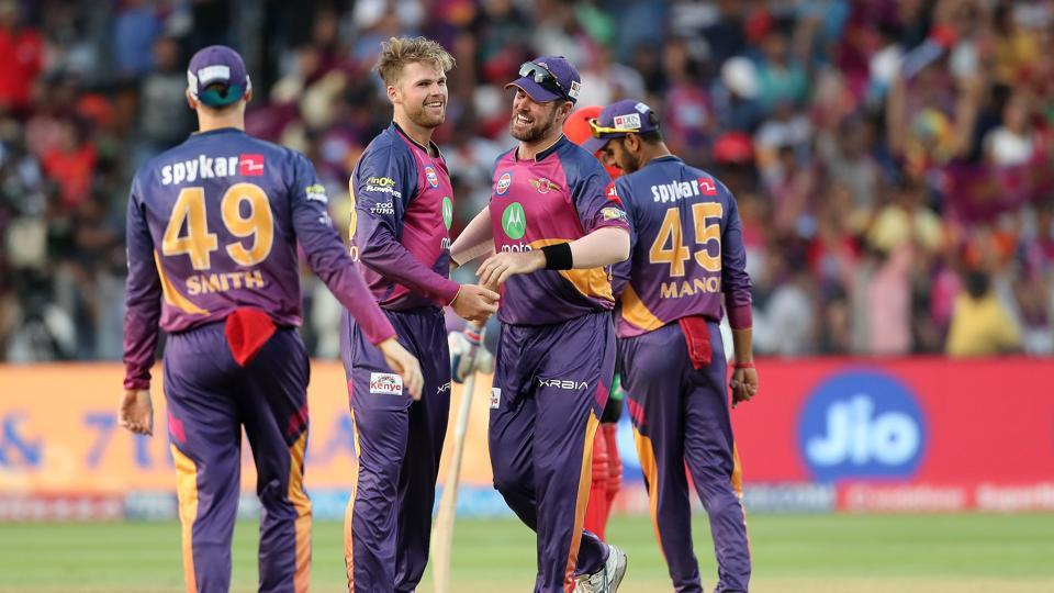 RPS thrashed RCB by 61 runs, with Ferguson winning the Man of the Match. (BCCI)