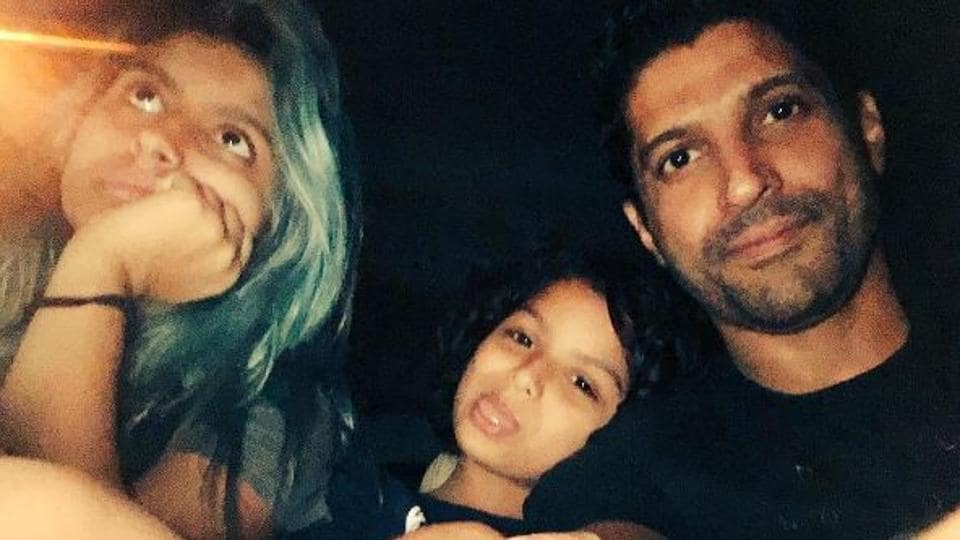 Actor Farhan Akhtar's kids Akira and Shakya have stopped bathing in bath tubs in order to save water.