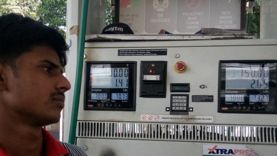 Petrol pump raids,Lucknow,Manjunath