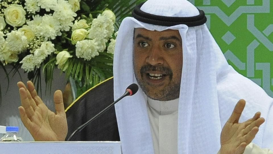 Sheikh Ahmad al-Fahad al-Sabah of Kuwait said on Sunday in a statement that he will withdraw from a May 8 election in Bahrain for the Fifa seat representing Asia, which he currently holds.