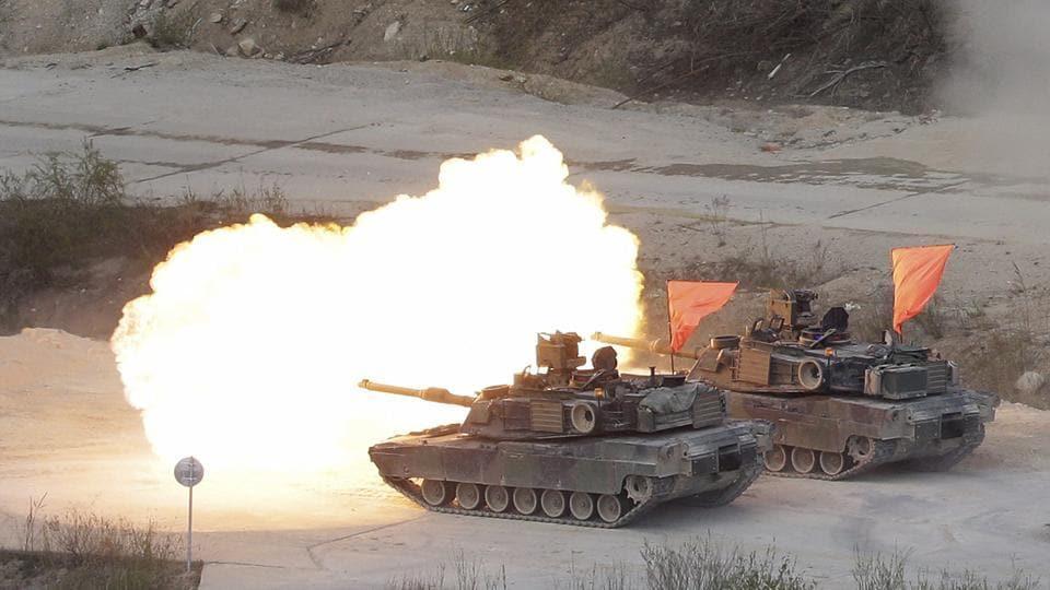 South Korea,US,Military drills