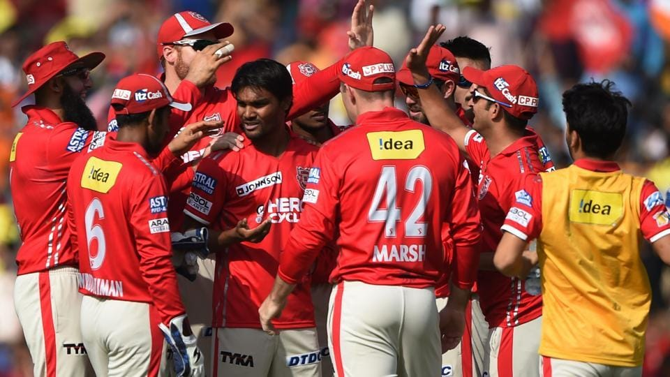 Kings XI Punjab's Sandeep Sharma took 4/20 as his team defeated Delhi Daredevils by 10 wickets in an Indian Premier League (IPL) 2017 match. (AFP)