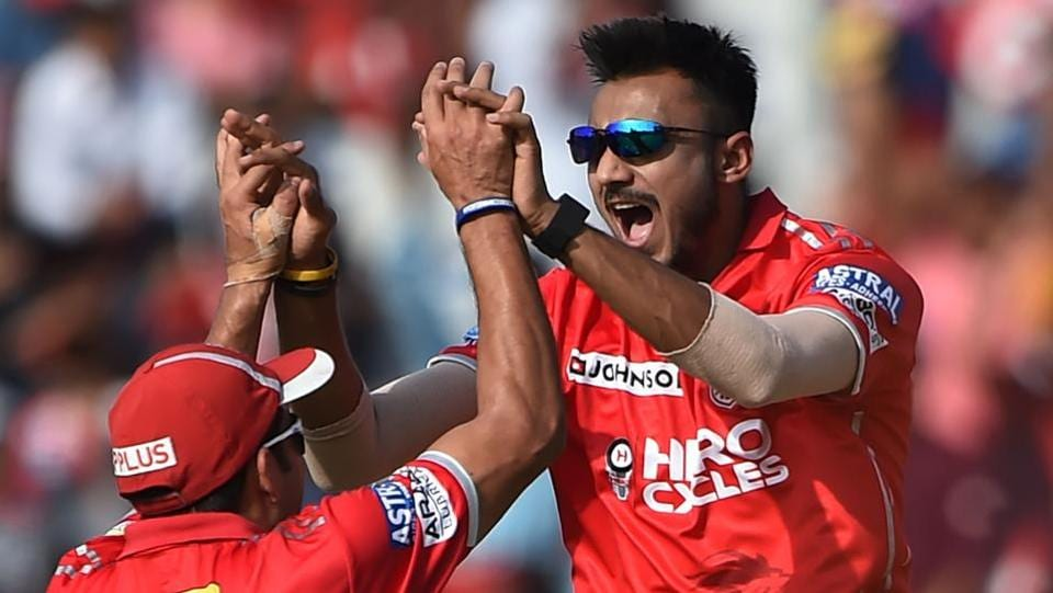 Axar Patel also picked two wickets for Kings XI Punjab. Delhi Dardevils were all out for 67. (AFP)