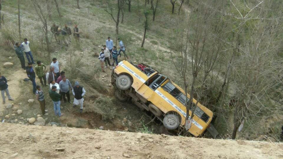 A vehicle skidded off the road killing over a dozen people in Khyber-Pakhtunkhwa on April 29.