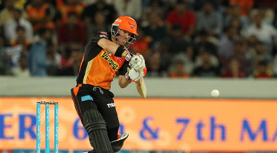 David Warner's 59-ball 126 guided Sunrisers Hyderabad to 209/3 in their 10th IPL 2017 game vs Kolkata Knight Riders. KKR batsmen found the target too big and ended their chase at 161/7 in 20 overs, losing by 48 runs. Live streaming of the IPL 2017 match between Sunrisers Hyderabad (SRH) vs Kolkata Knight Riders (KKR) was available online.
