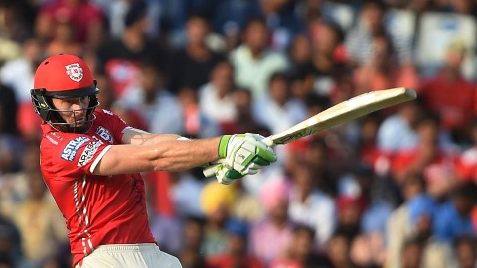 Kings XI Punjab's Martin Guptill scored 50* as his team reached the target in 7.5 overs. (AFP)