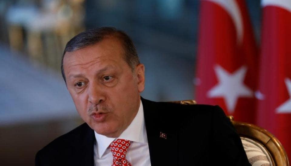 Turkish President,PM Modi,Recep Tayyip Erdogan