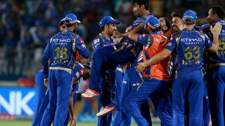 Jasprit Bumrah's heroics in the super over against Gujarat Lions helped Mumbai Indians consolidate their second position in IPL 2017 standings. Get full cricket score of Mumbai Indians vs Gujarat Lions here