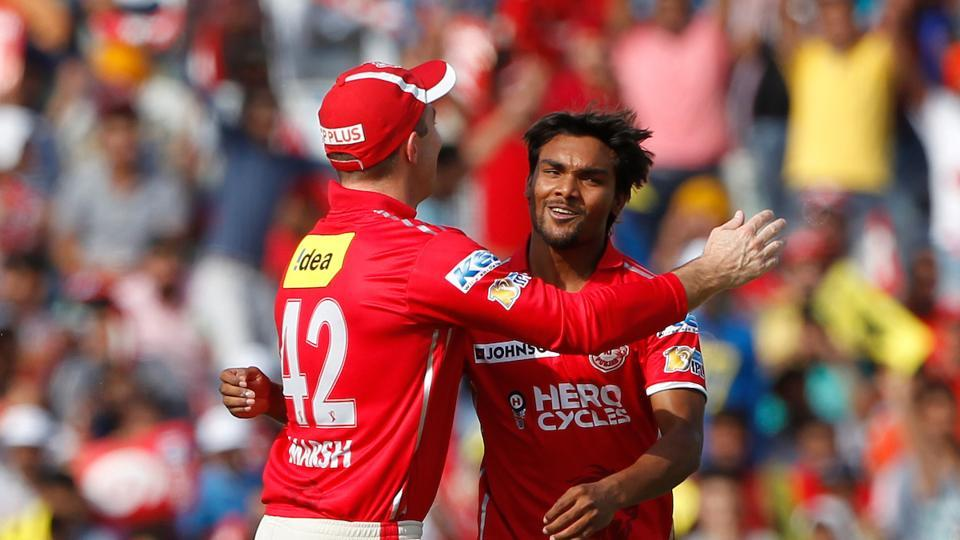 Sandeep Sharma starred for Kings XI Punjab onFriday as he picked up four wickets in the 2017 Indian Premier League match against DelhiDaredevils at Mohali on Sunday.
