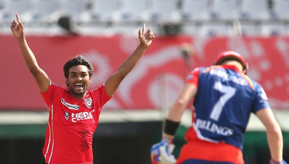 Sandeep Sharma's 4/20 helped Kings XI Punjab beat Delhi Daredevils by 10 wickets in a 2017 Indian Premier League game at Mohali on Sunday evening.