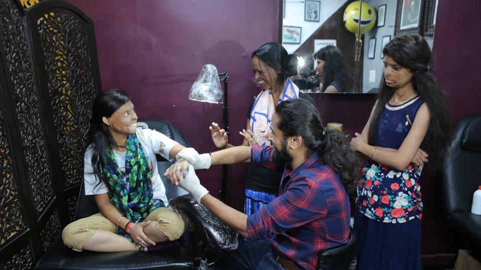 Acid attack,Tattoo,Laxmi