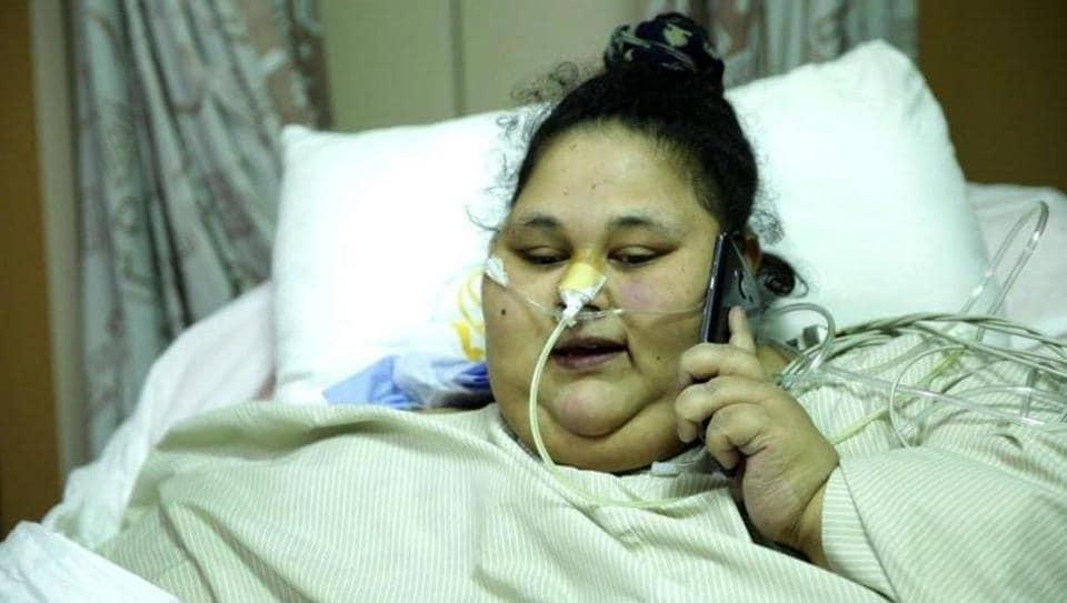 Egyptian woman Eman Ahmed,world's heaviest woman,Mumbai treatment