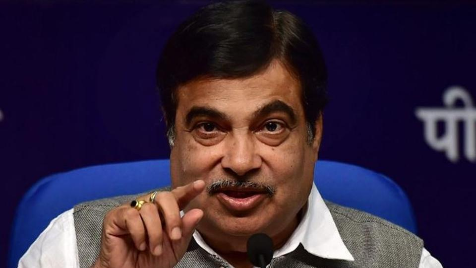 Union transport and highway minister Nitin Gadkari