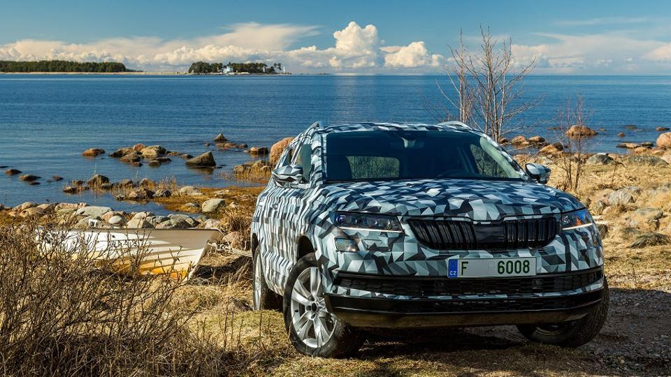 Skoda Karoq,Skoda new car,Skoda INdia