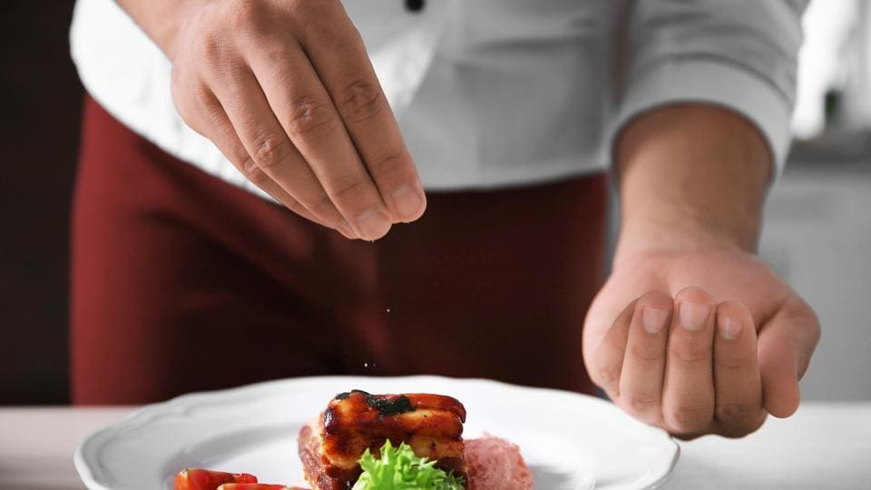 Cutting down involves adding less salt during cooking and on the table.
