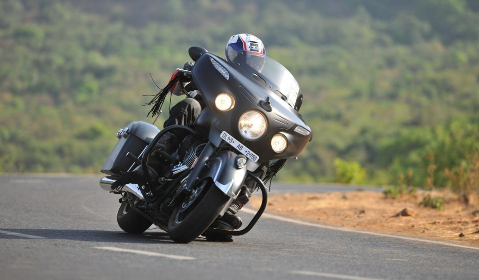 Are highways your calling? Then Indian chieftain is a ride for you.