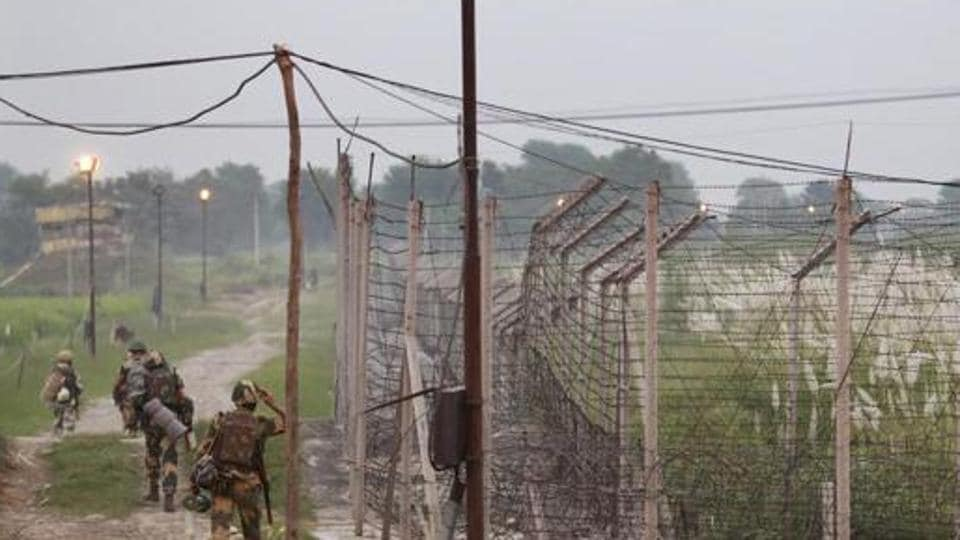 Two Indian soldiers' bodies were mutilated by Pakistani forces along the LoC on Monday.