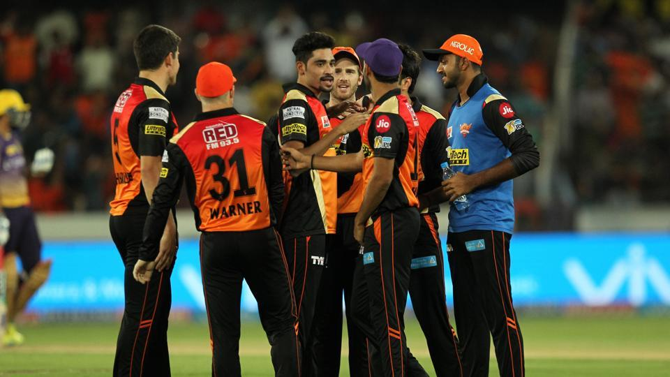 Sunrisers Hyderabad secured their fifth win at home as they defeated  Kolkata Knight Riders by 48 runs to consolidate their third spot. Get highlights of SRH vs KKR here