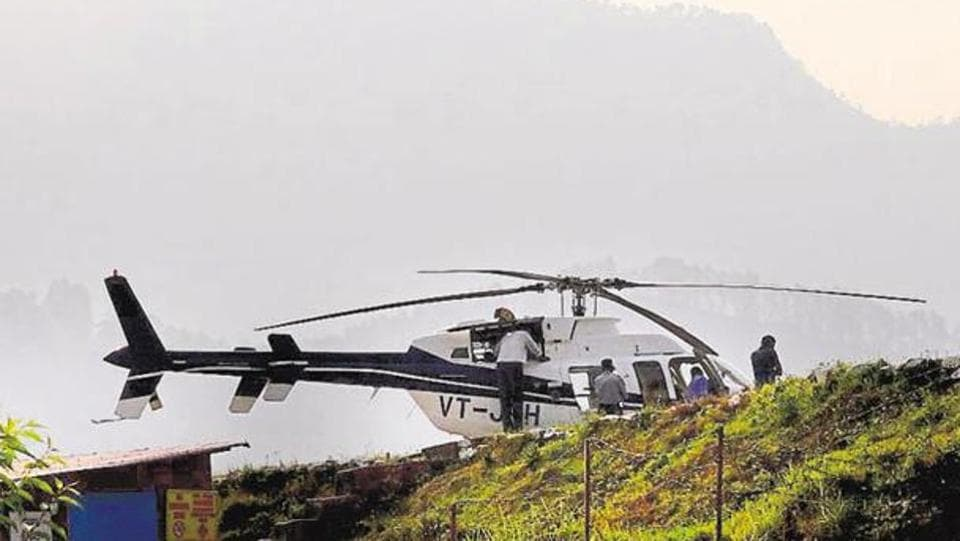 The WII survey found choppers flying at an altitude of 150 mt, instead of the minimum 600mt set by the central government.