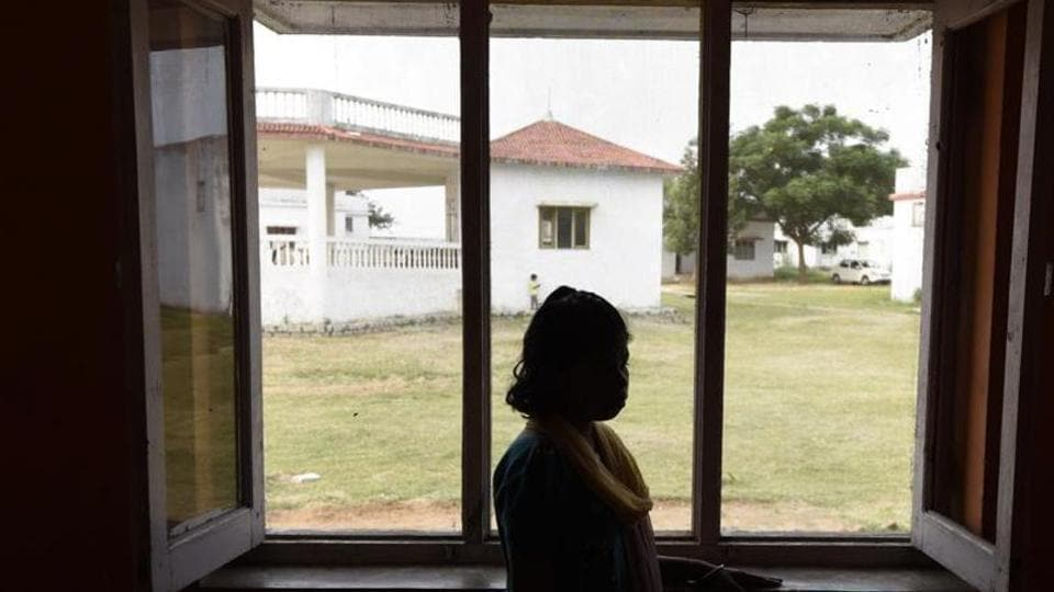 The government home is for girls who are either rape survivors or rescued from the city's streets, human traffickers and brothels.