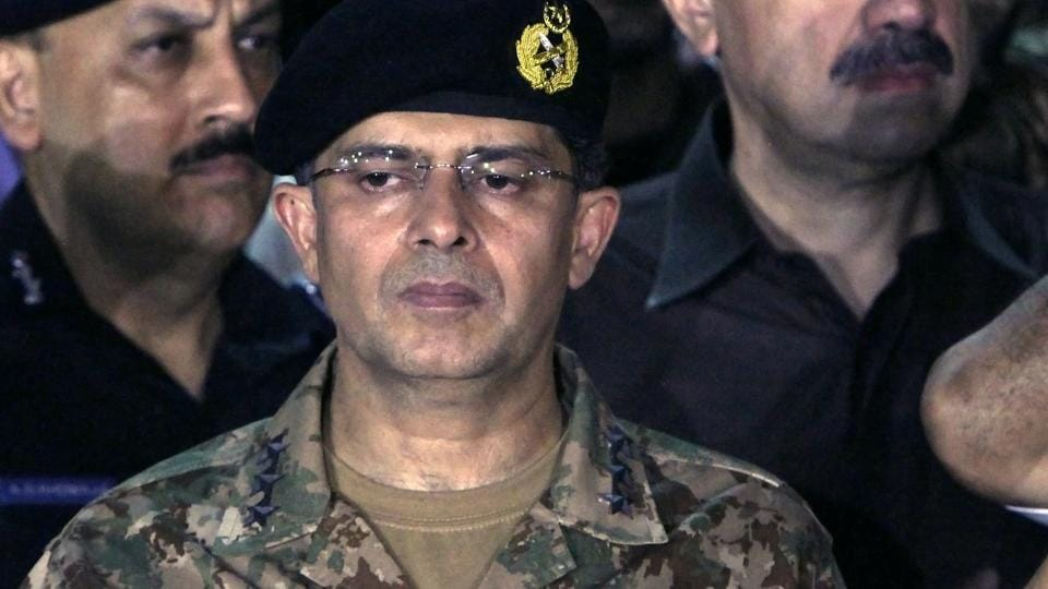Lt Gen Naveed Mukhtar,Inter-Services Intelligence,Pakistan