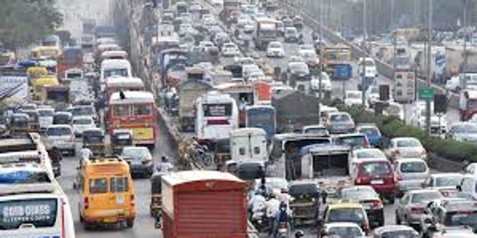 Mumbai road traffic