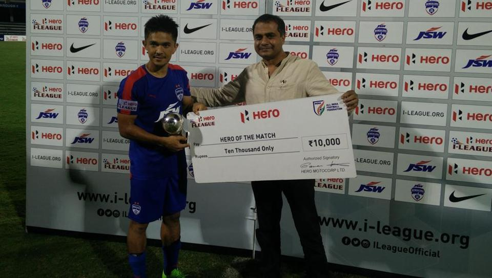 Sunil Chhetri scored seven goals in what was an underwhelming I-League season for two-time champions Bengaluru FC.
