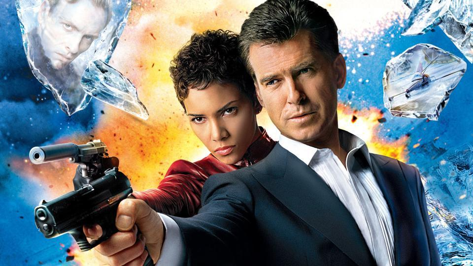 Pierce Brosnan portrayed agent 007 in four films - Goldeneye, Tomorrow Never Dies, The World is Not Enough and Die Another Day.