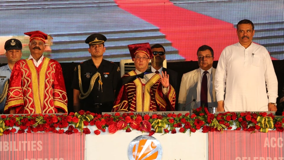 Pranab Mukherjee,Lovely Professional University,Phagwara