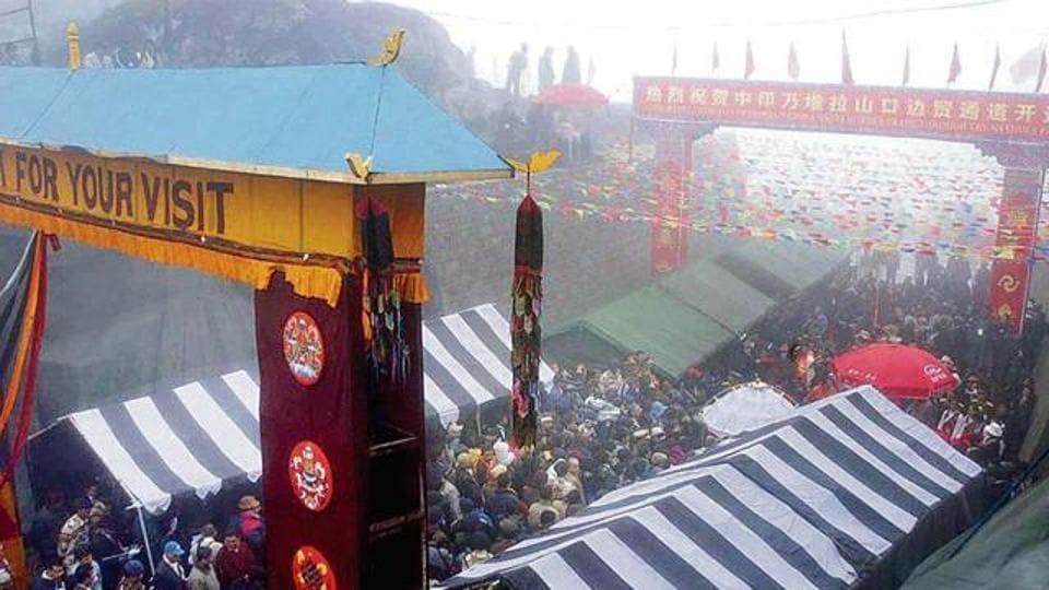 Nathu La,CHina,Trade
