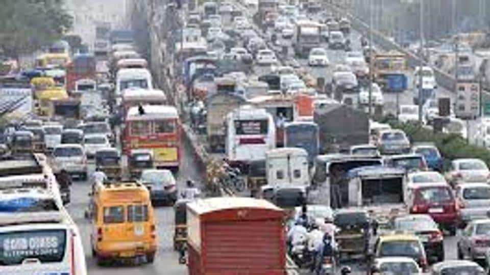 farmers protest,western express highway,noise pollution