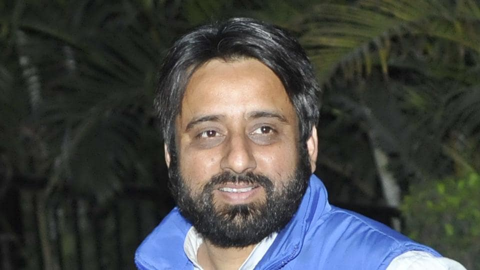 AAP's Okhla MLA Amanatullah Khan resign as a member of the party's political affairs committee.